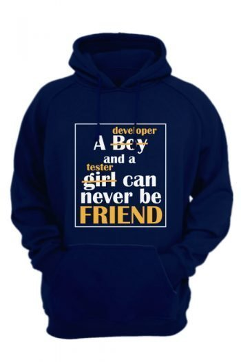 A-developer-and-tester-can-never-be-friend-navy-blue-hoodie