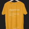 Algorithm-Definition-for-Software-Developer-and-Administrator-Funny-Programmer-Coding-geek-developer-golden-yellow-tshirt