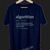 Algorithm-Definition-for-Software-Developer-and-Administrator-Funny-Programmer-Coding-geek-developer-navy-blue-tshirt