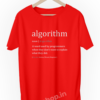 Algorithm-Definition-for-Software-Developer-and-Administrator-Funny-Programmer-Coding-geek-developer-red-tshirt